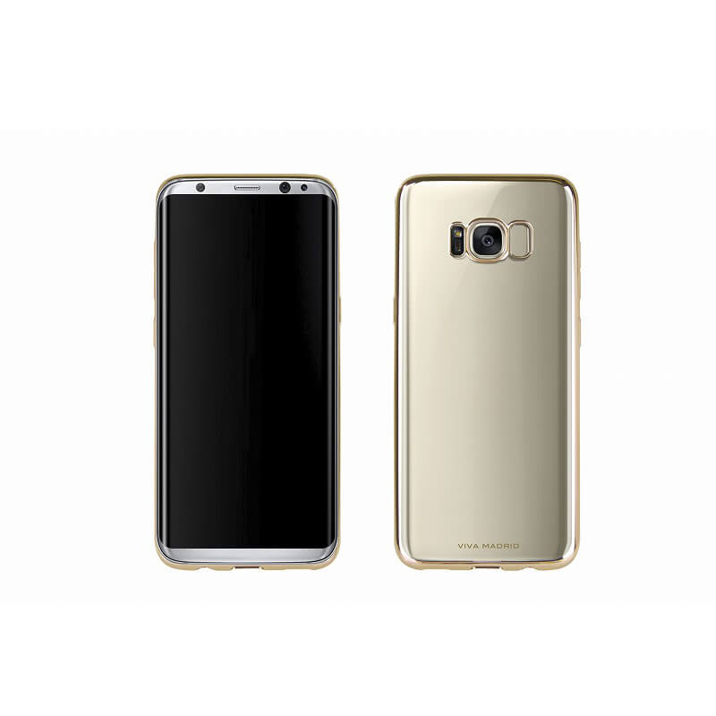 Galaxy S8 SC-02J/SCV36/シェル型ケース/メタルソフト/Metalico Flex/Champagne Gold