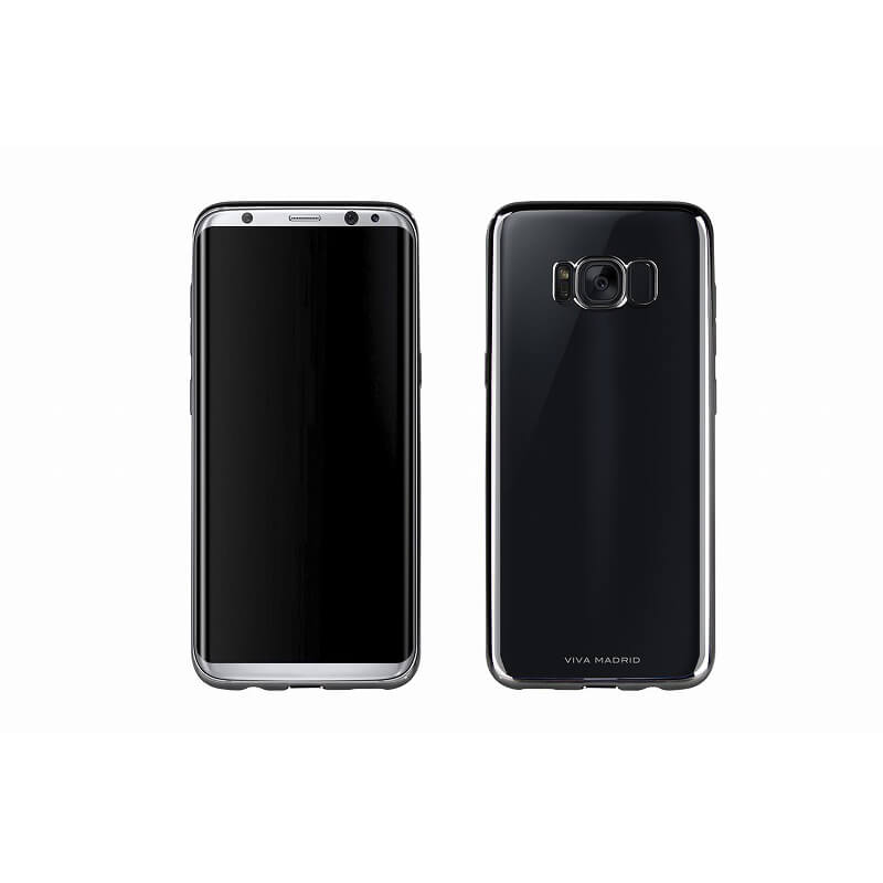Galaxy S8 SC-02J/SCV36/シェル型ケース/メタルソフト/Metalico Flex/Black