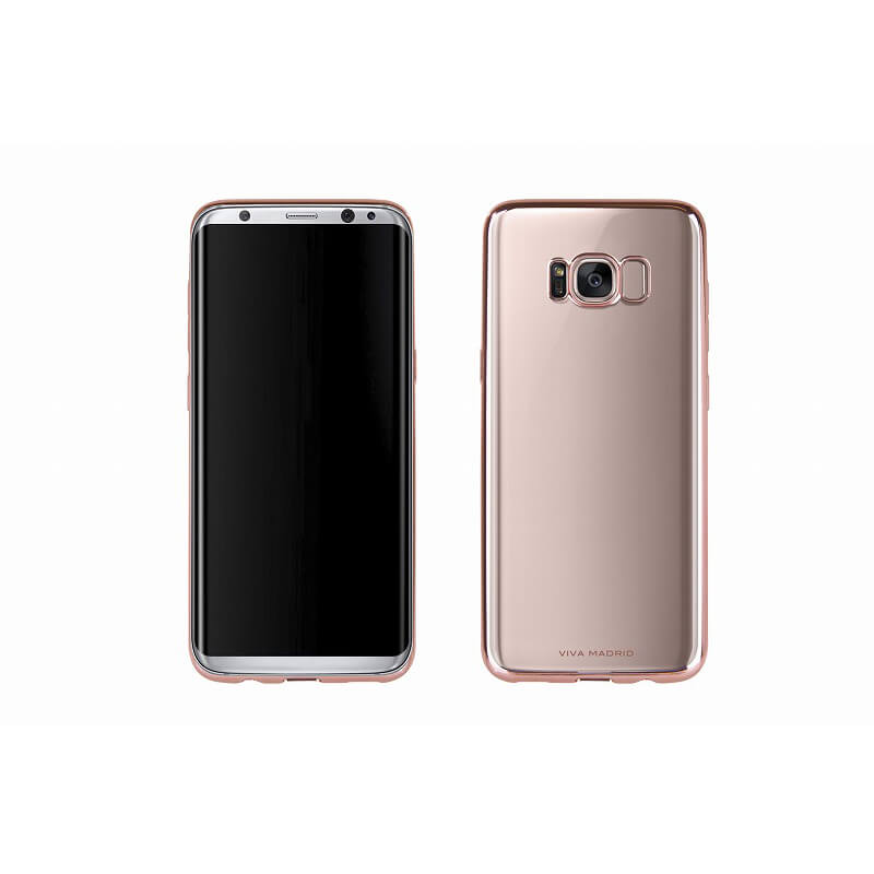 Galaxy S8 SC-02J/SCV36/シェル型ケース/メタルソフト/Metalico Flex/Rose Gold