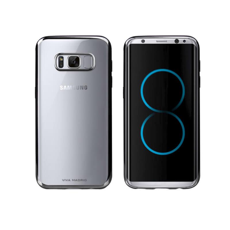 Galaxy S8+ SC-03J/SCV35/シェル型ケース/メタルソフト/Metalico Flex/Black