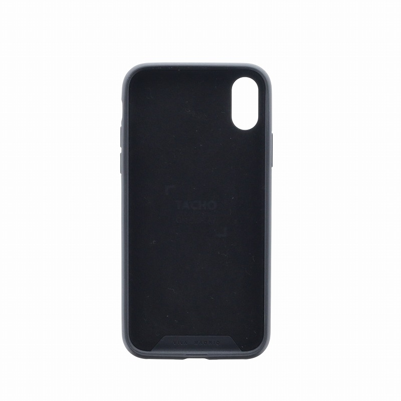 iPhone XS/iPhone X シェル型ケース/スタッズ/Tacho Collection/Inked(Black)