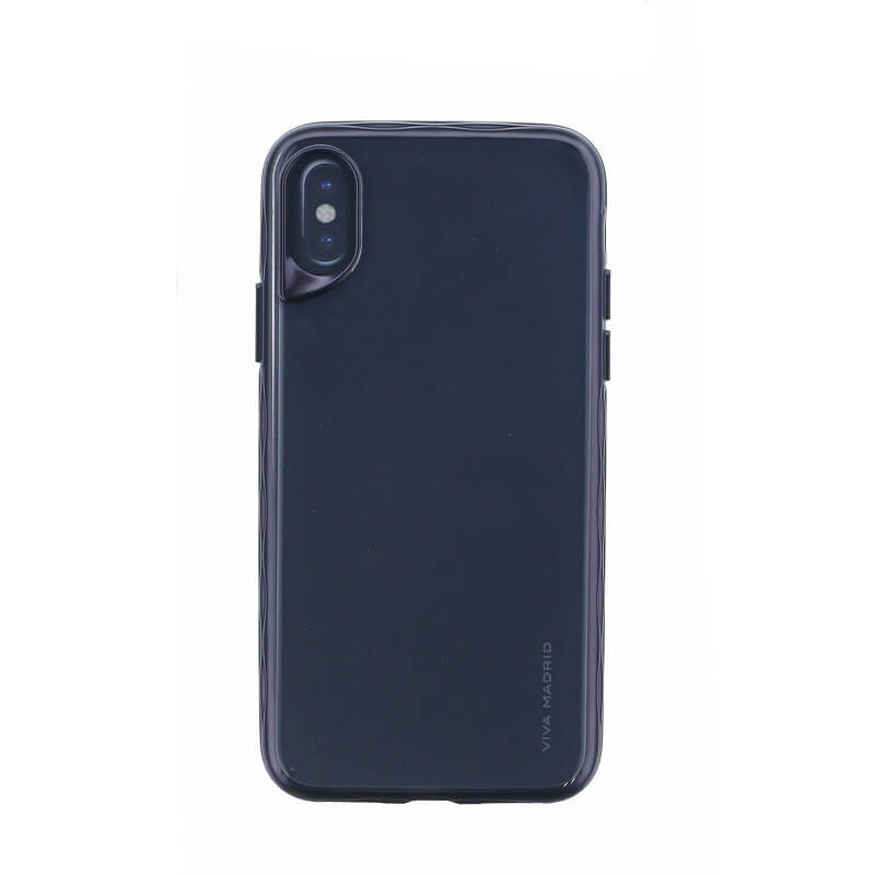 iPhone XS/iPhone X シェル型ケース/タフメタル/Metalico Glosa Collection/Jet Black