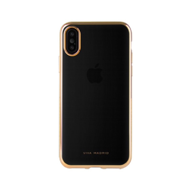 iPhone XS/iPhone X シェル型ケース/メタルソフト/Metalico Flex Collection/Champagne Gold
