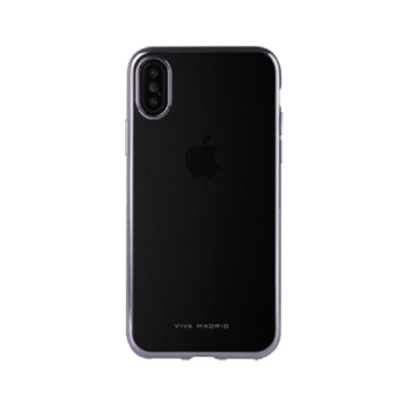 iPhone XS/iPhone X シェル型ケース/メタルソフト/Metalico Flex Collection/Ash Gunmetal
