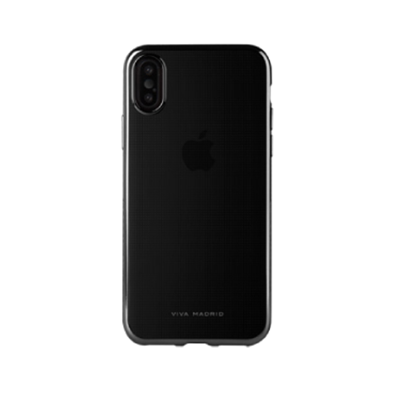 iPhone XS/iPhone X シェル型ケース/メタルソフト/Metalico Flex Collection/Jet Black
