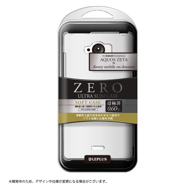 AQUOS ZETA SH-01G/disney mobile on docomo SH-02G 超極薄0.6mm TPUケース クリア