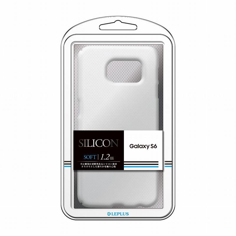 Galaxy S6 SC-05G シリコンケース 「SILICON」 ハーフクリア