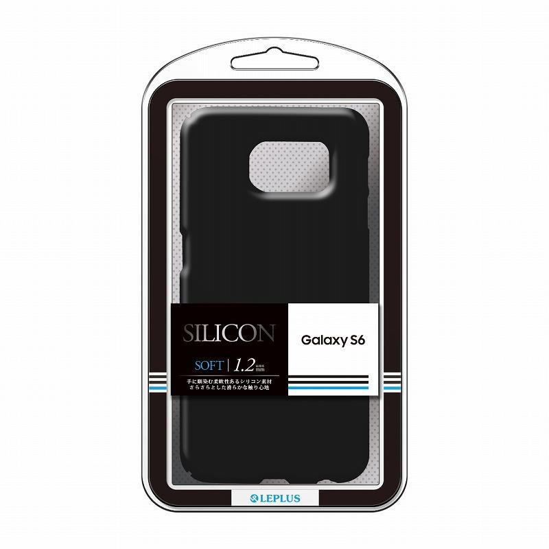 Galaxy S6 SC-05G シリコンケース 「SILICON」 ブラック