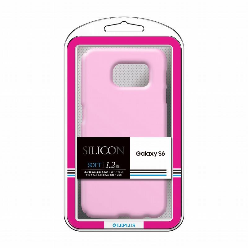 Galaxy S6 SC-05G シリコンケース 「SILICON」 ピンク
