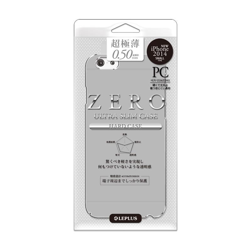 iPhone 6 [ZERO HARD] 超極薄0.5mm ハードケース スモーク