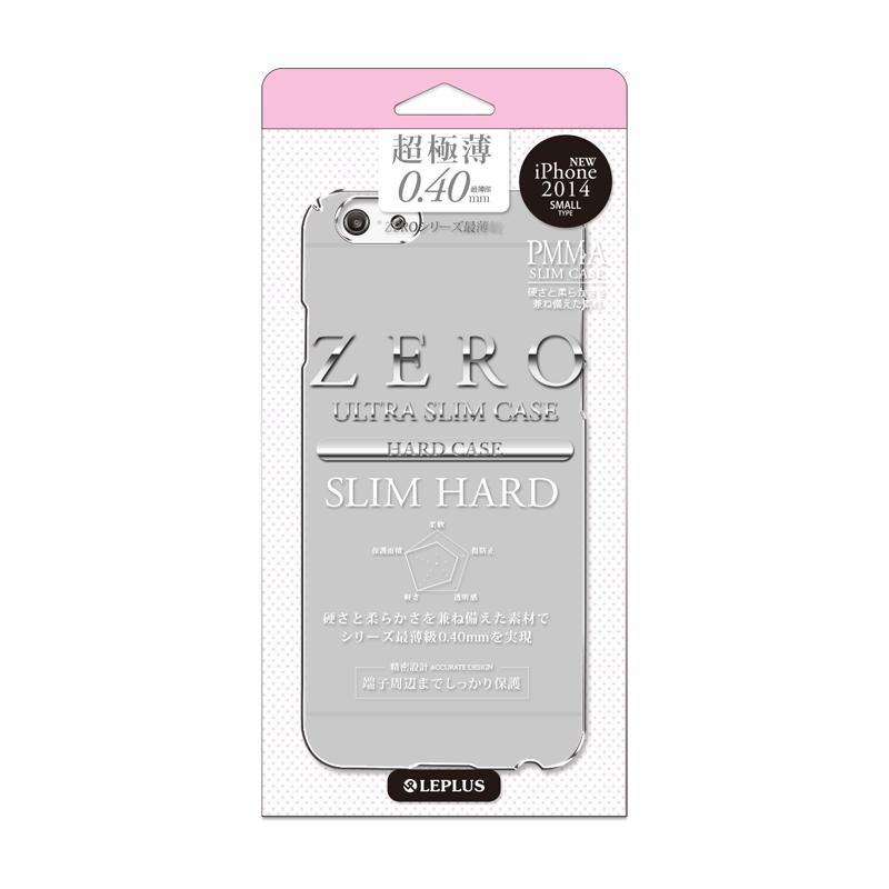 iPhone 6_6S [ZERO SLIM HARD] 超極薄0.4mm ハードケース スモーク