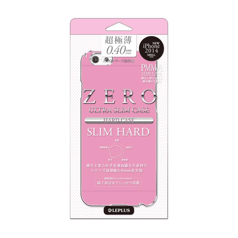 iPhone 6_6S [ZERO SLIM HARD] 超極薄0.4mm ハードケース ビビッドピンク