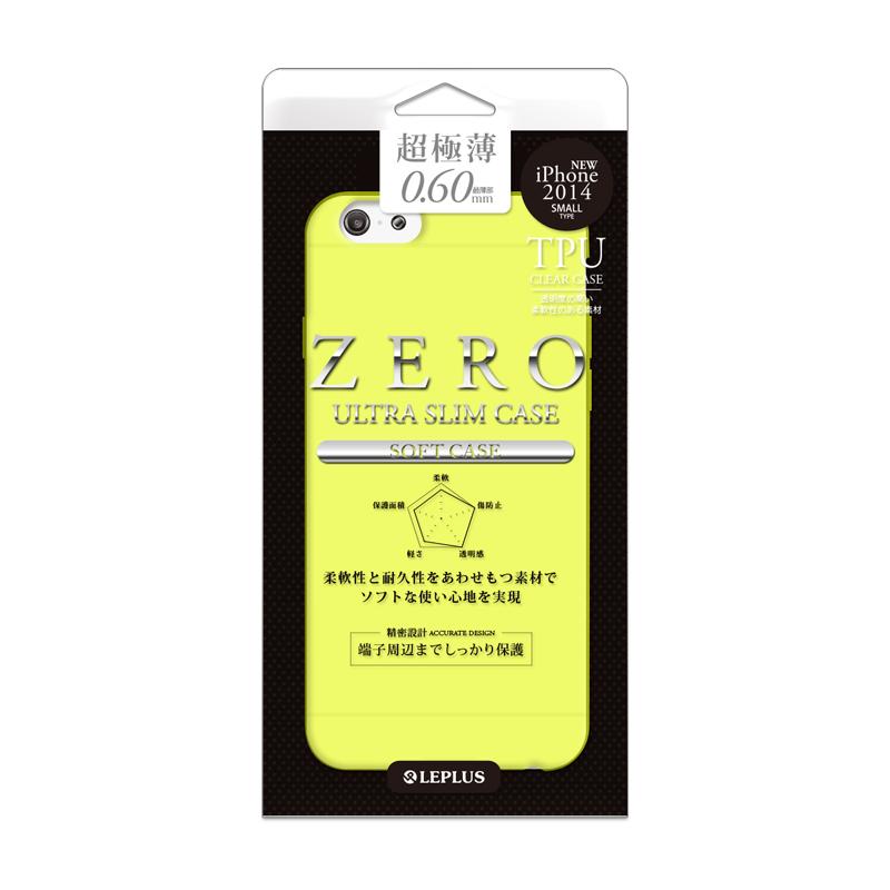 iPhone 6 [ZERO TPU] 超極薄0.6mm TPUケース イエロー