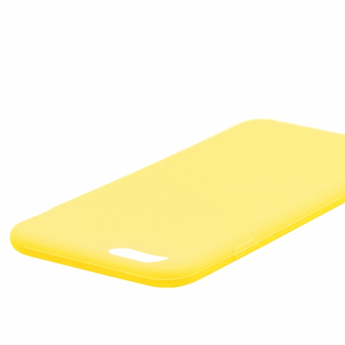 iPhone 6_6S [ZERO SILICON] 超極薄0.6mm シリコンケース ブルー