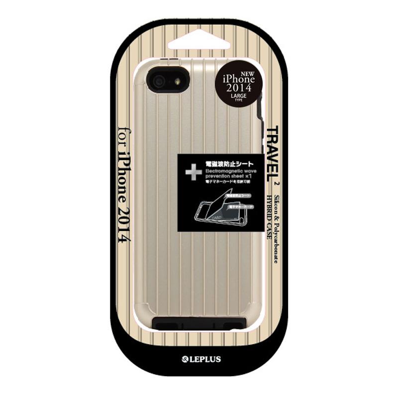 iPhone 6 Plus [TRAVEL 2] ハイブリッドケース ゴールド