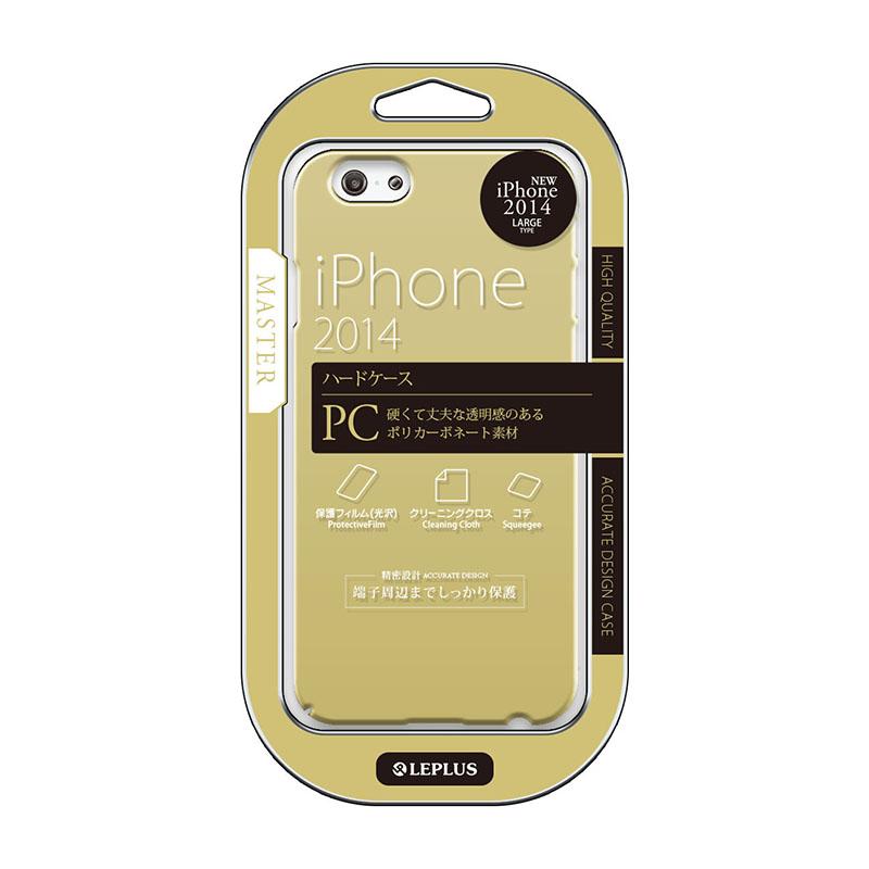 iPhone 6 Plus [MASTER] ハードケース ゴールド