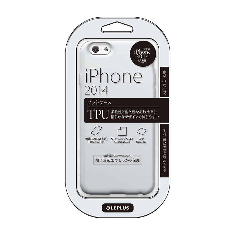 iPhone 6 Plus [TPU NORMAL] TPUケース クリア