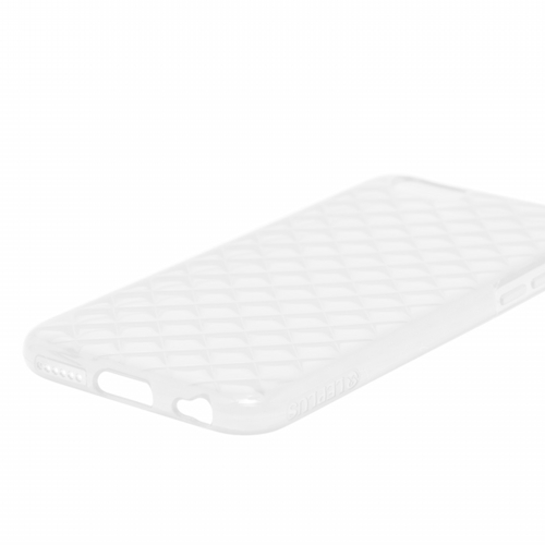 iPhone 6 Plus [TPU DIA] TPUケース ビビッドピンク