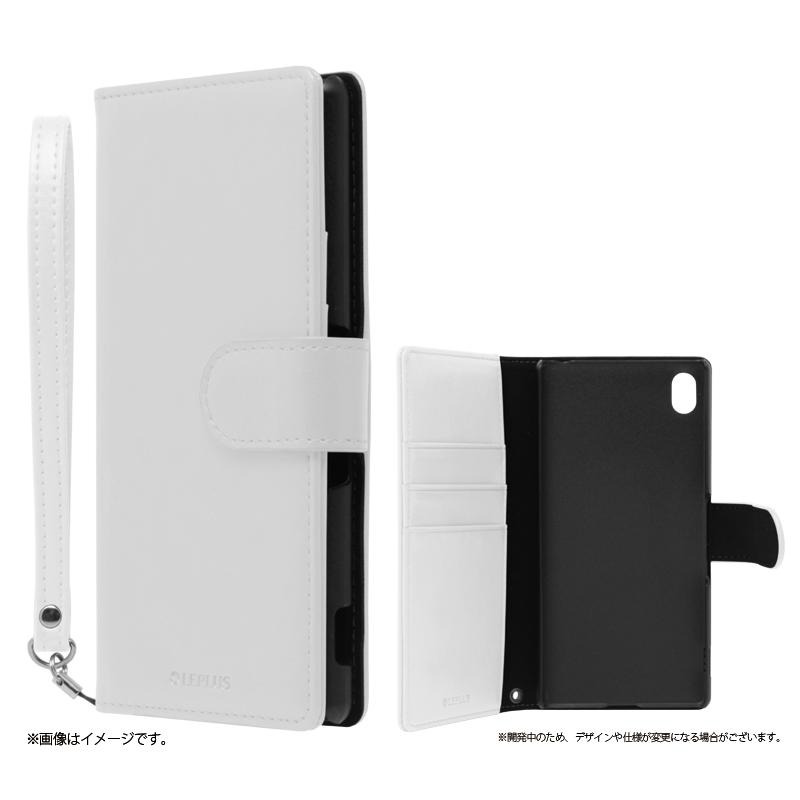 Xperia(TM) Z4 SO-03G/SOV31/402SO ブックタイプPUレザーケース「BOOK A(エース)」 ホワイト