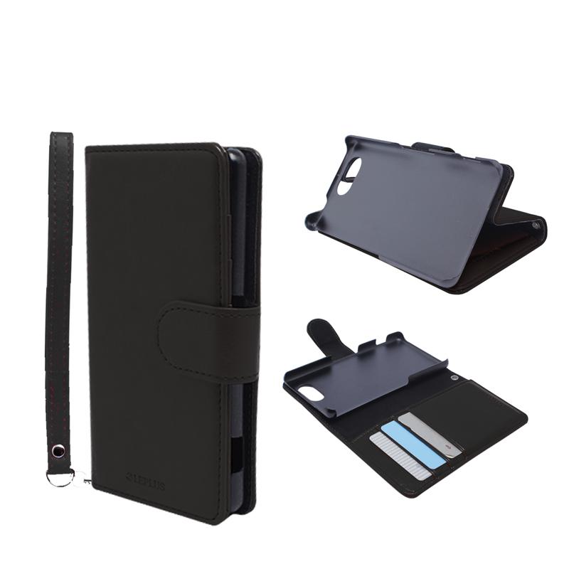 Xperia(TM) A4 SO-04G ブックタイプPUレザーケース「BOOK A(エース)」 ブラック