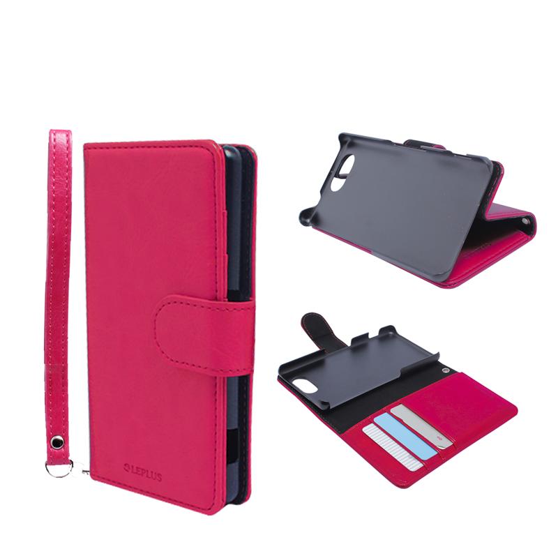 Xperia(TM) A4 SO-04G ブックタイプPUレザーケース「BOOK A(エース)」 ピンク