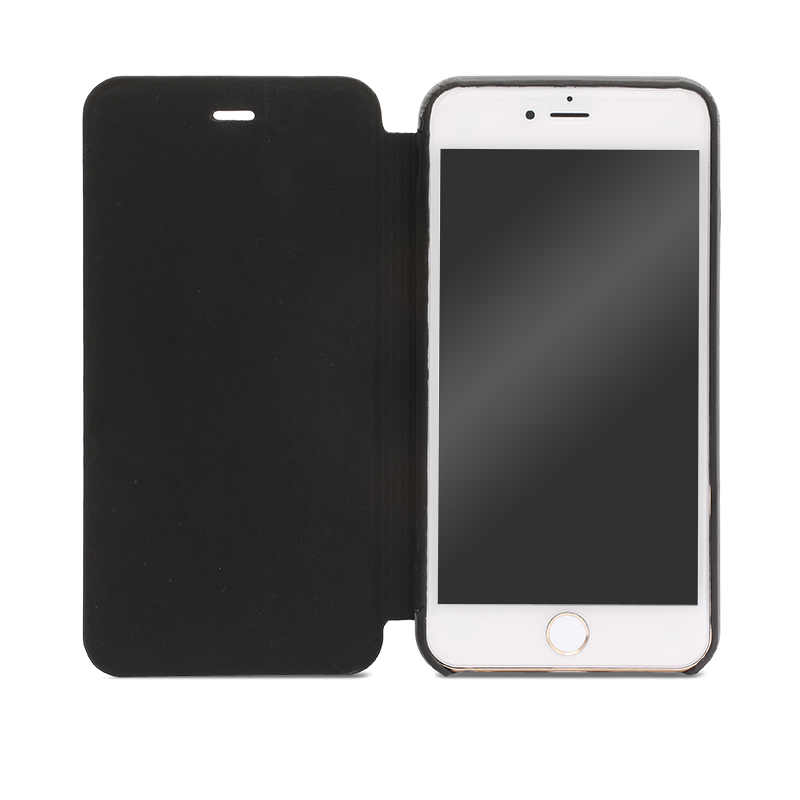 iPhone 6 Plus/6s Plus 極薄レザーケース「SLIM」 ブラック