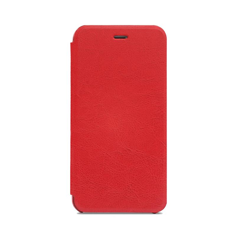 iPhone 6 Plus/6s Plus 極薄レザーケース「SLIM」 レッド