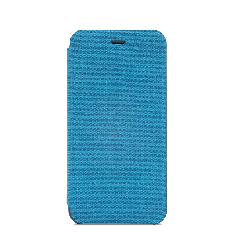 iPhone 6 Plus/6s Plus 極薄レザーケース「SLIM Fabric」 帆布柄