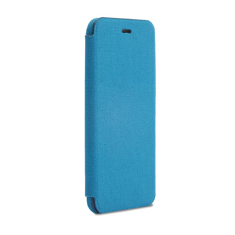 iPhone 6 Plus/6s Plus 極薄レザーケース「SLIM Fabric」 帆布柄