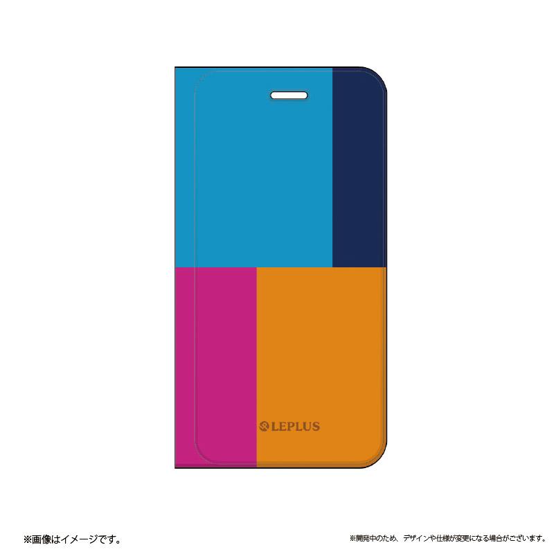 □iPhone 6 Plus/6s Plus [TETRA] デザインPUレザーカバー A