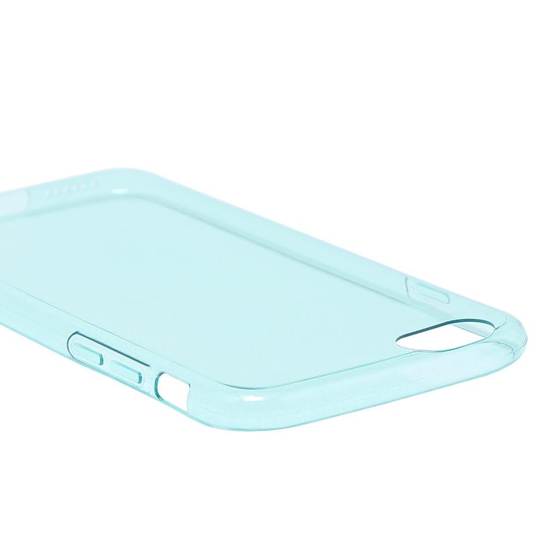 □iPhone 6 Plus/6s Plus [ZERO TPU] 超極薄0.6mm TPUケース エメラルドグリーン