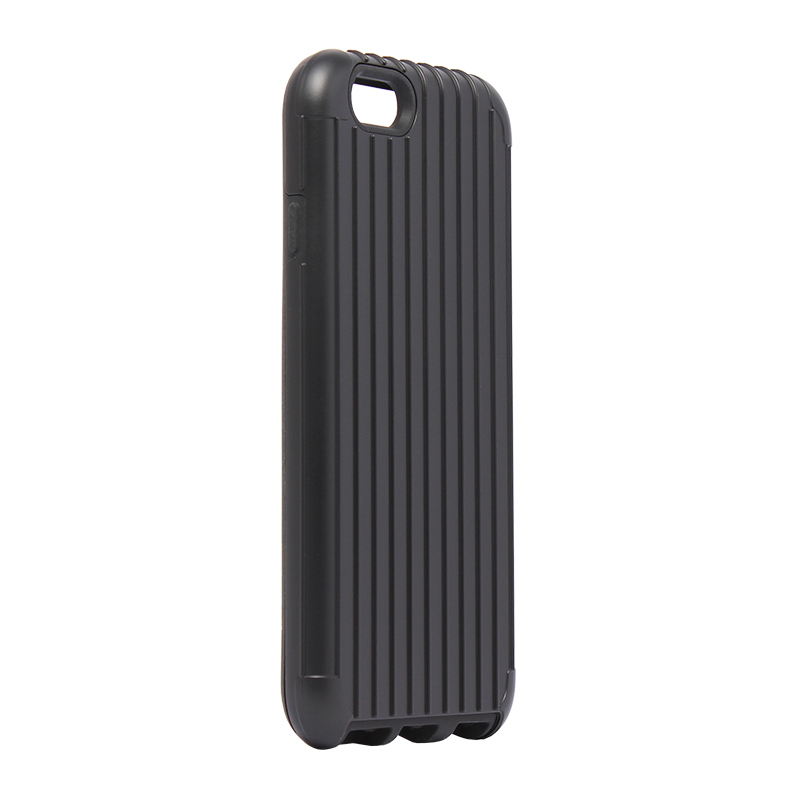 □iPhone 6 Plus/6s Plus [TRAVEL 2] ハイブリッドケース ブラック