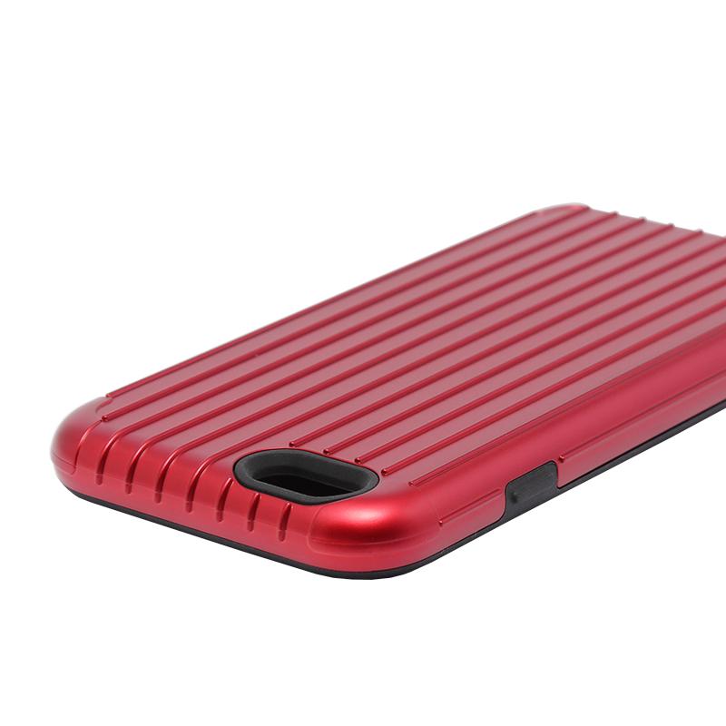 □iPhone 6 Plus/6s Plus [TRAVEL 2] ハイブリッドケース レッド
