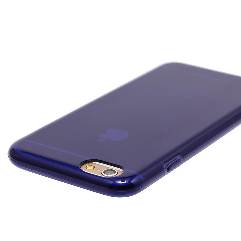 □iPhone 6 Plus/6s Plus [MASTER SOFT] TPUケース ネイビー