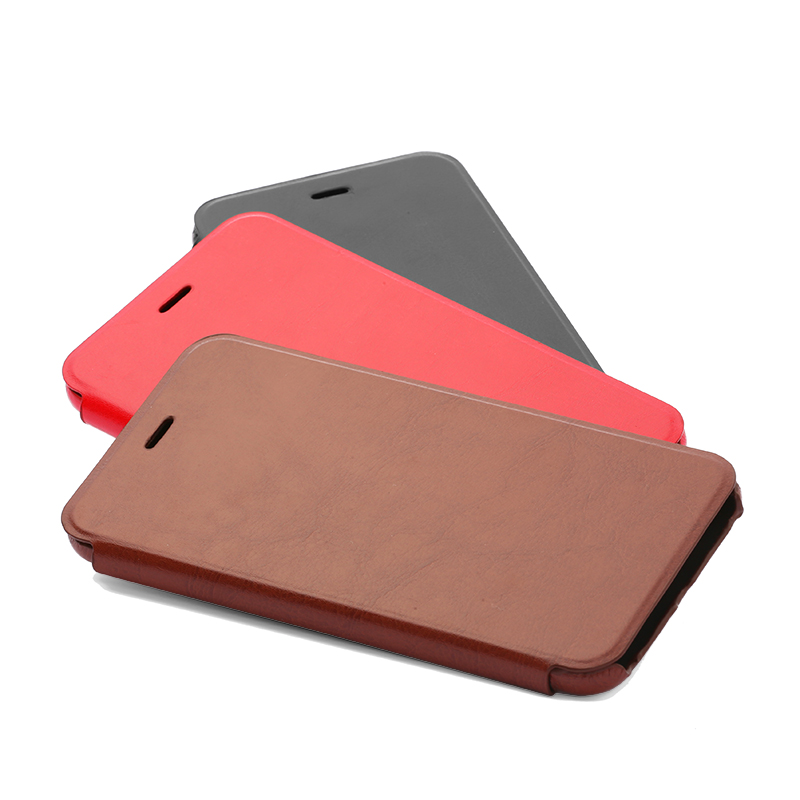 iPhone 6/6s 極薄レザーケース「SLIM」 レッド