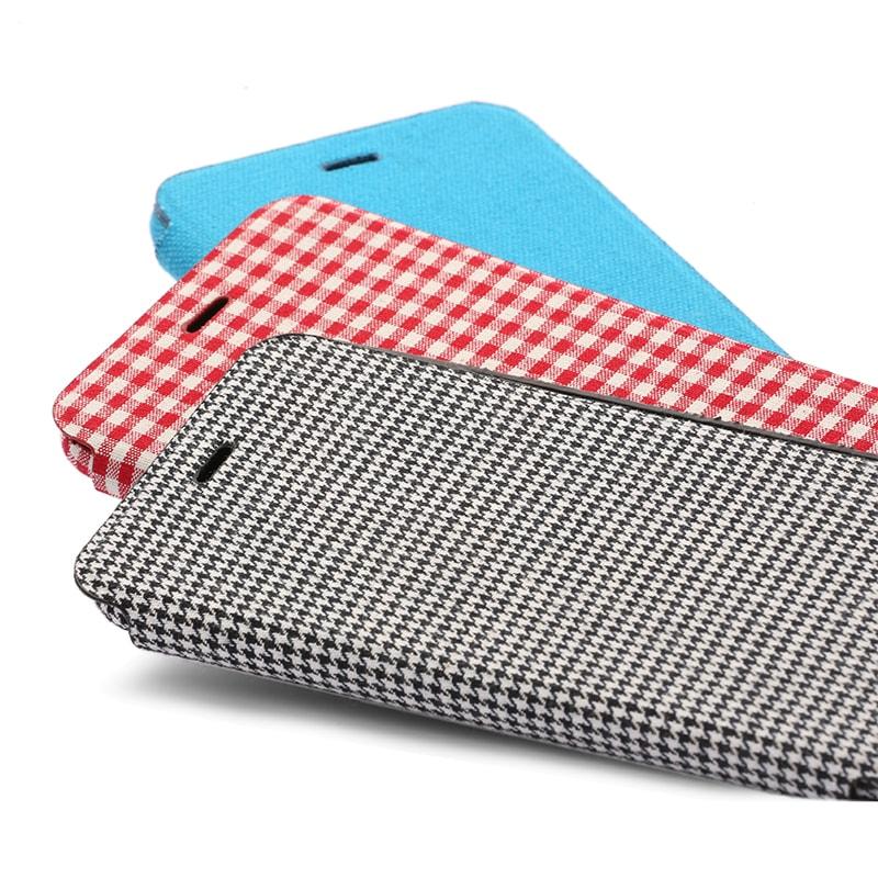 iPhone 6/6s 極薄レザーケース「SLIM Fabric」 帆布柄