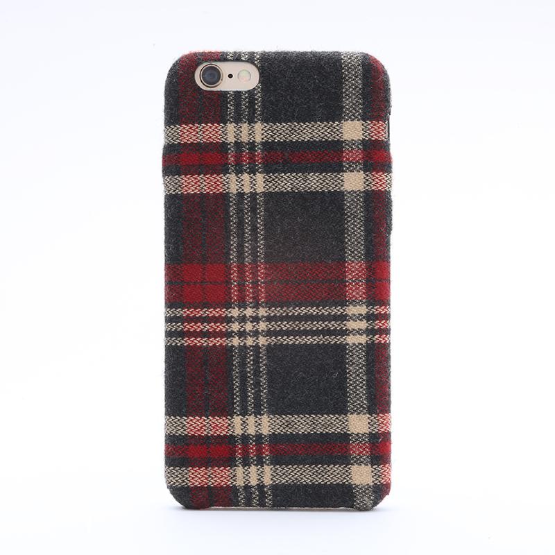 iPhone 6/6s ファブリックシェルケース「SLIM SHELL Fabric」 チェック柄