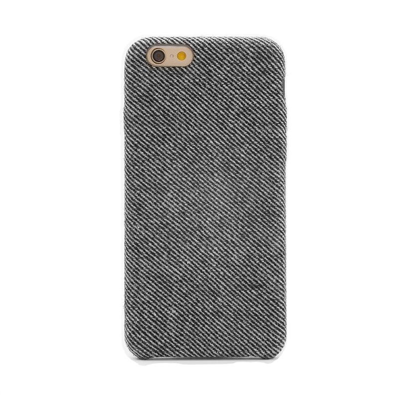 iPhone 6/6s ファブリックシェルケース「SLIM SHELL Fabric」 ヘリボーン柄