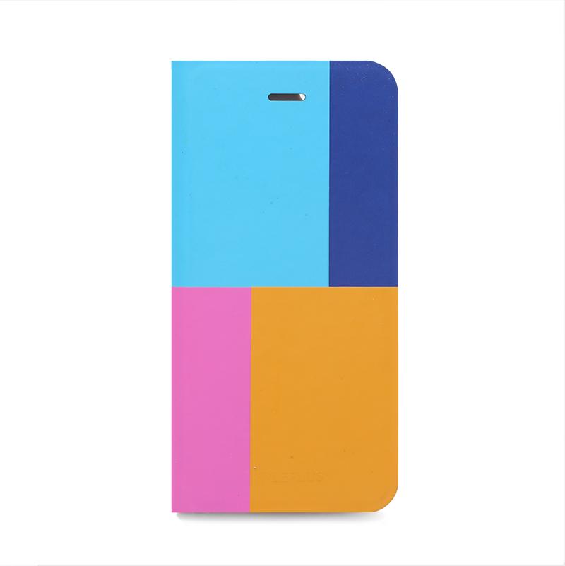 □iPhone 6/6s [TETRA] デザインPUレザーカバー A
