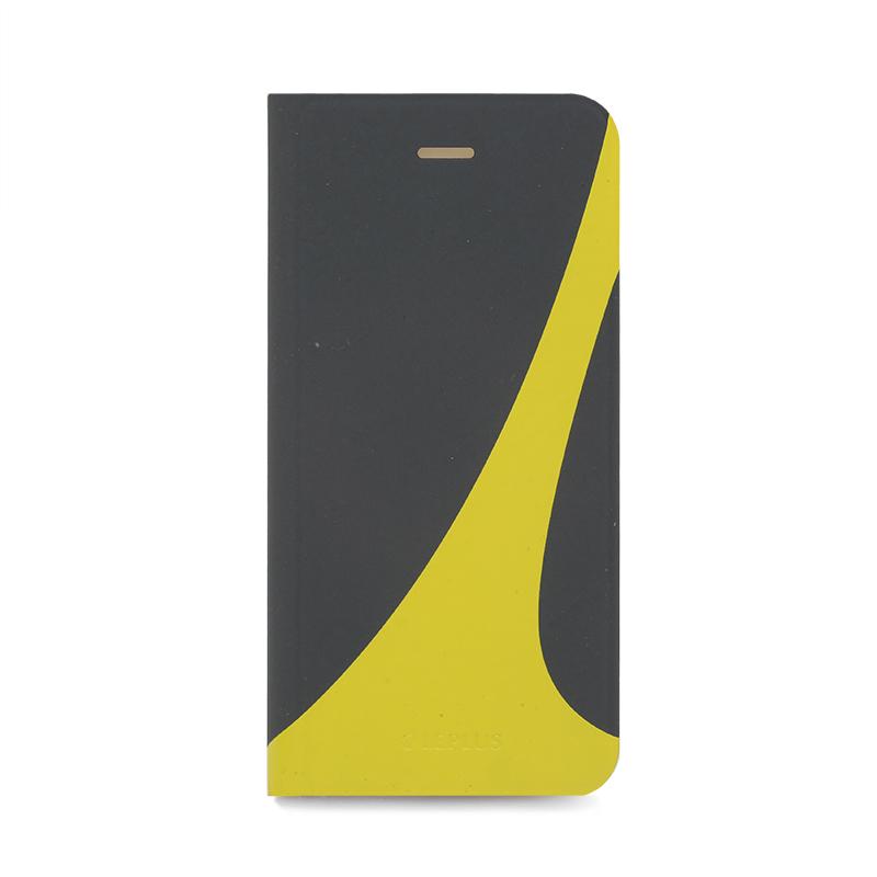 □iPhone 6/6s [SWEAT] デザインPUレザーカバー グリーン