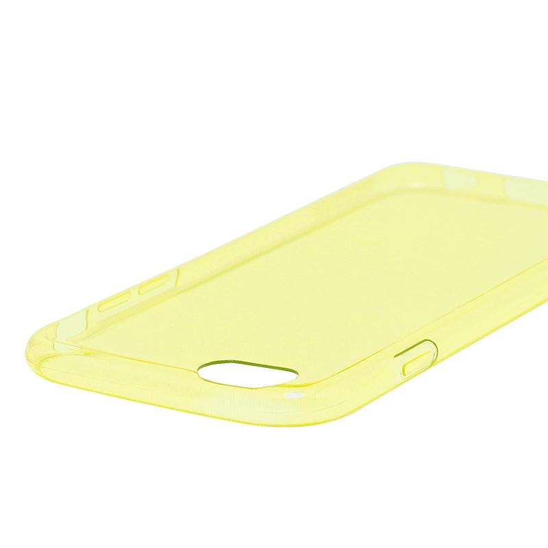 □iPhone 6/6s [ZERO TPU] 超極薄0.6mm TPUケース イエロー