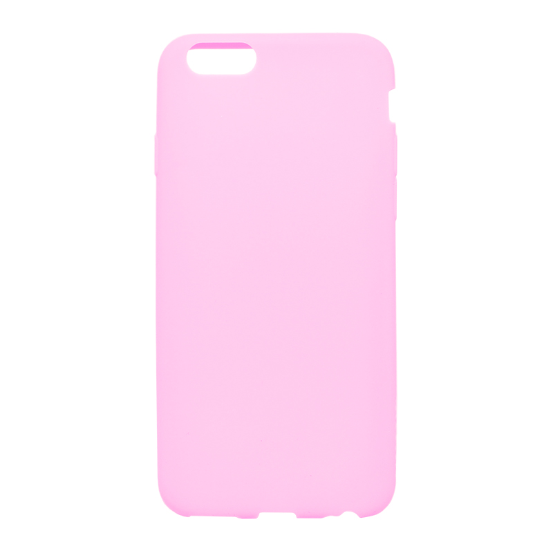 □iPhone 6/6s [ZERO SILICON] 超極薄0.6mm シリコンケース ピンク