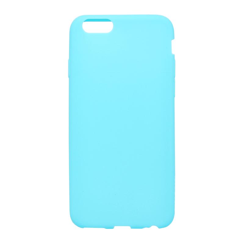 □iPhone 6/6s [ZERO SILICON] 超極薄0.6mm シリコンケース ブルー