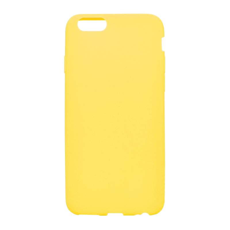 □iPhone 6/6s [ZERO SILICON] 超極薄0.6mm シリコンケース オレンジ