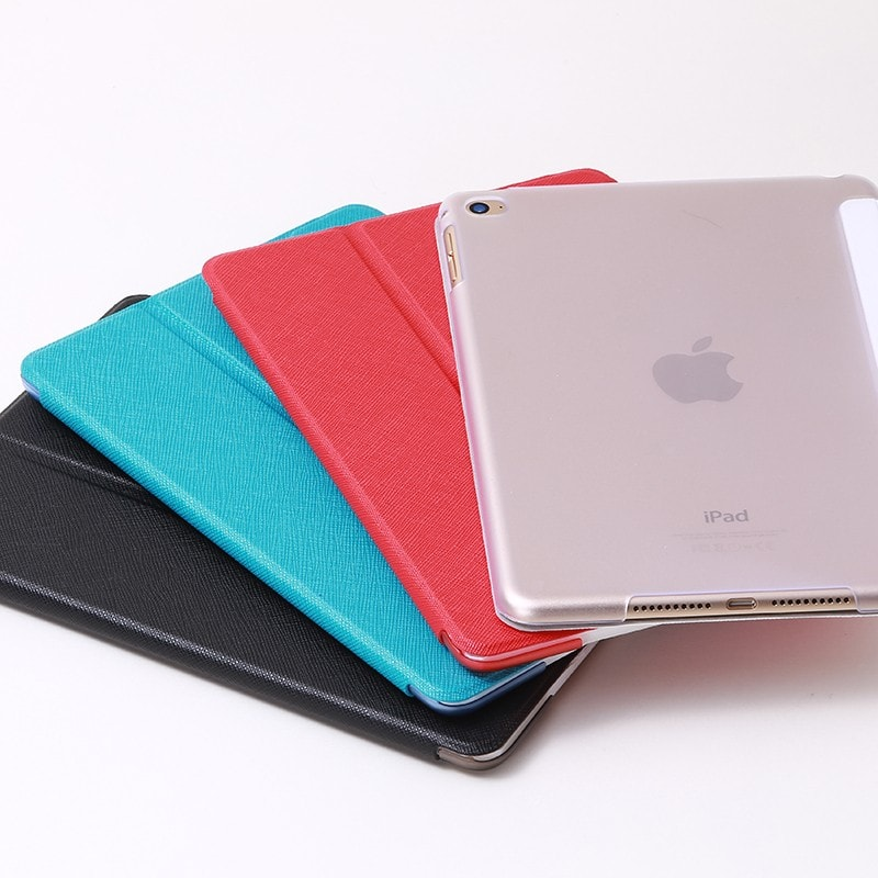 iPad mini 4 フラップケース 「Clear Note」 ブラック