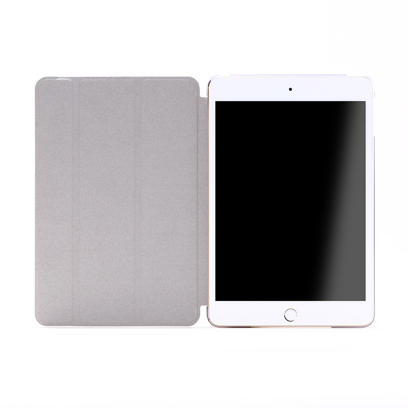 iPad mini 4 フラップケース 「Clear Note」 ホワイト