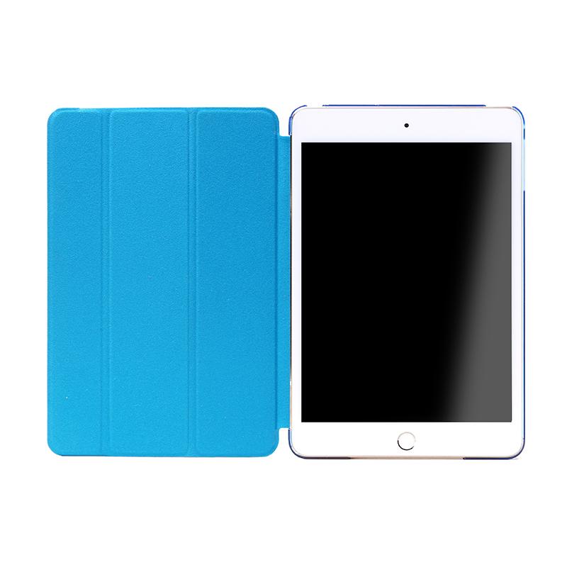 iPad mini 4 フラップケース 「Clear Note」 ブルー