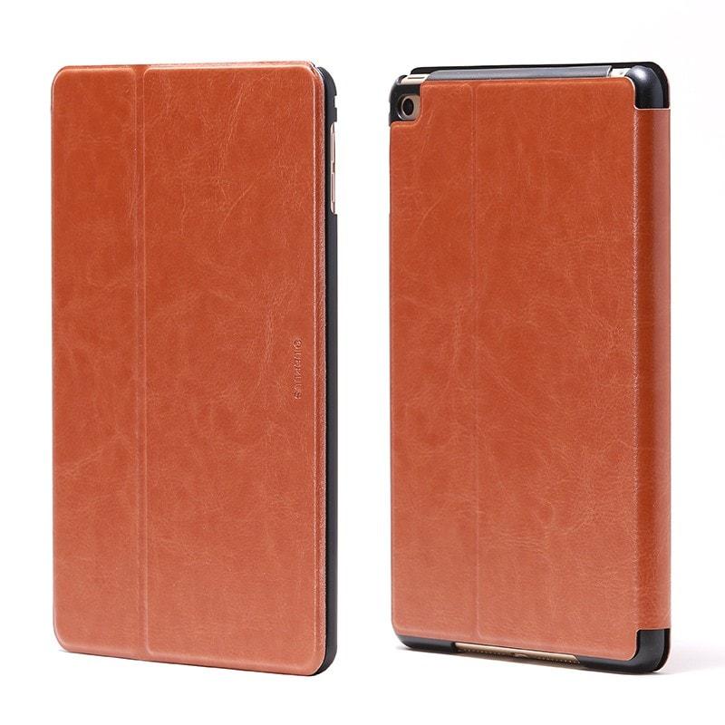 iPad mini 4 薄型PUレザーケース 「PRIME」 キャメル