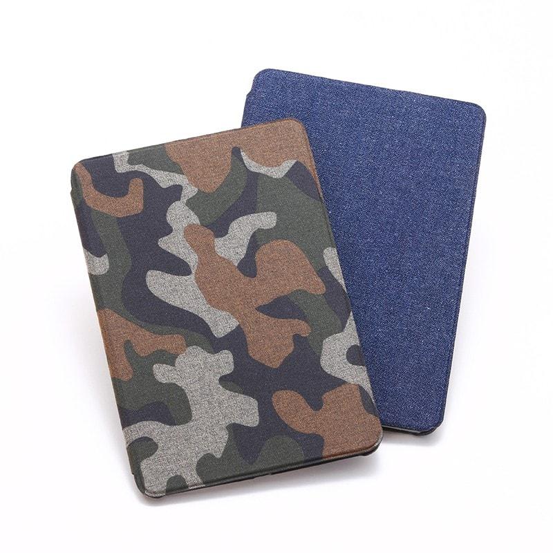 iPad mini 4 薄型・軽量・フルカバー「SLIM Fabric」 カモフラージュ柄