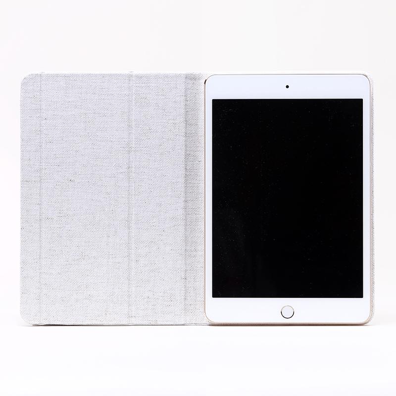 iPad mini 1/2/3/4 超極薄・超軽量ケース「AIR LIGHT」 ナチュラルホワイト
